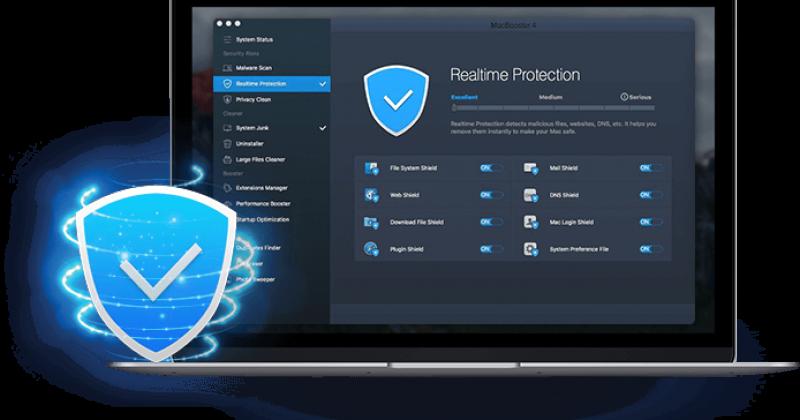 MacBooster 4 For Mac清理杀毒工具 中文版免费下载/注册码